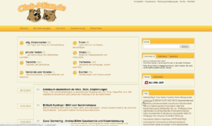 Club-Miau - Der Webkatalog für die Katz 2013